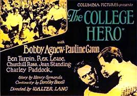 The college hero