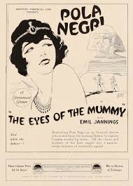 the eyes of the mummy