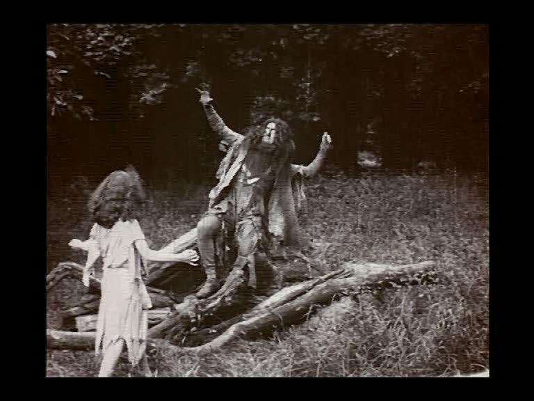 TheTempest 1908 - Caliban scares Ariel