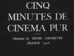 five minutes of cinema pure