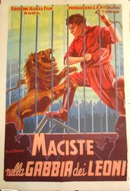 Maciste in the lions cage