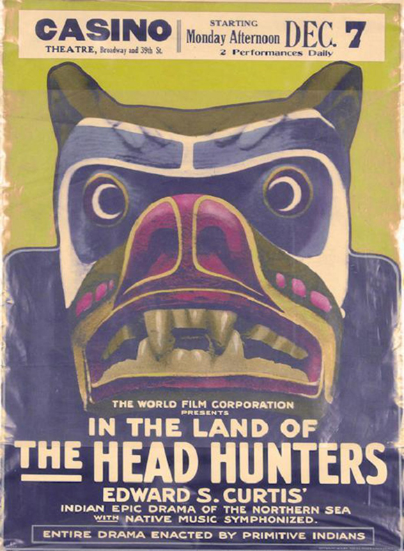 in the land-of-the-head-hunters-poster