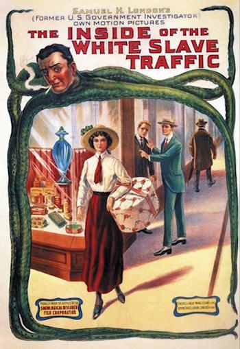 The Inside of the White Slave Traffic poster