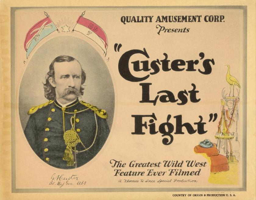 Image result for Custer's last fight (1912)